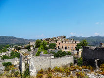 Ghost town,fethiye Royalty Free Stock Images