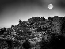 Ghost town,fethiye Stock Photography