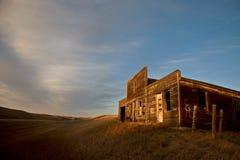 Ghost Town Galilee Saskatchewan Stock Photos