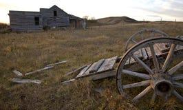 Ghost Town Galilee Saskatchewan Stock Image