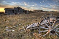 Ghost Town Galilee Saskatchewan Stock Images