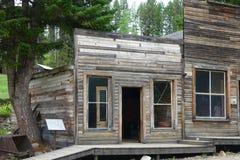 Ghost Town - Garnet Montana Royalty Free Stock Photo