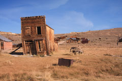 Ghost Town hotel. From the California Gold Rush Stock Images