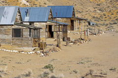 Ghost Town Houses Stock Image
