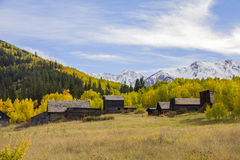 Free Ghost Town In The Autumn Royalty Free Stock Images - 59529689