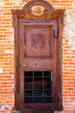 Ghost Town Jailhouse Rusted Patina Door. Old West Ghost Town Jailhouse Rusted Patina Door Royalty Free Stock Images