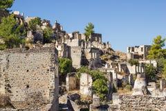 Ghost town (Kayakoy), Turkey Stock Photography