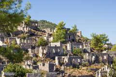 Ghost town (Kayakoy), Turkey Stock Photos