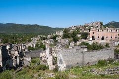 Ghost town of Kayakoy, Turkey Stock Image