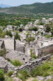 Ghost town of Kayakoy, Turkey Stock Photography