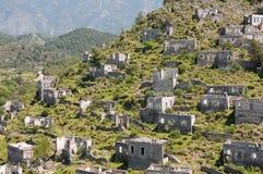 Ghost town of Kayakoy, Turkey Stock Photo