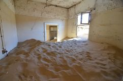 Ghost town Kolmanskop, Namibia, Africa. stock photography