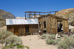 Ghost Town on the Mountain Royalty Free Stock Photos