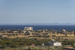Ghost town in Northern Cyprus Stock Image