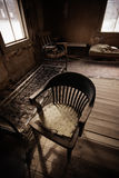 Ghost Town - Old Chair Stock Image