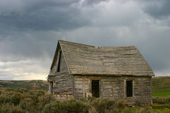 Ghost Town, Piedmont, Wyoming Stock Photos