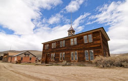 Ghost Town School House Royalty Free Stock Photos