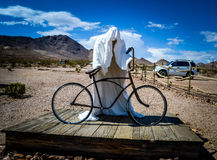 Ghost Town - Sculture in Rhyolite  Royalty Free Stock Image