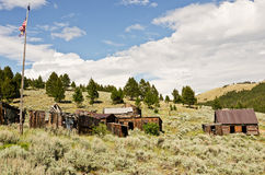 Ghost Town in Summer Royalty Free Stock Image