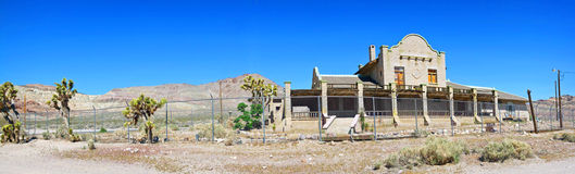 Ghost Town Train Depot - Panorama Stock Photos