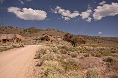 Ghost Town View Royalty Free Stock Photo