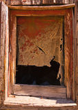 Ghost Town Window Frame Stock Photos