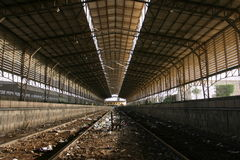 Ghost train Stock Image