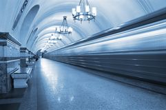 Ghost train Royalty Free Stock Image