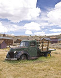 Ghost Truck in a Ghost Town Royalty Free Stock Photo