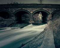 Ghost Under River Bridge Royalty Free Stock Images