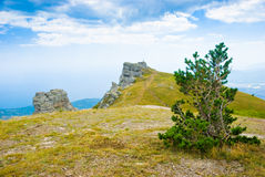 Ghost Valley. Landmark - Ghost Valley, Demerdji, Crimea, Ukraine Stock Image