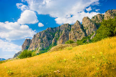 Ghost Valley. Landmark - Ghost Valley, Demerdji, Crimea, Ukraine Stock Photography