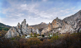 Ghost Valley. Crimea Royalty Free Stock Image