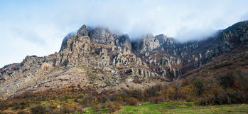 Ghost Valley. Crimea Royalty Free Stock Photo