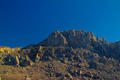 Ghost valley landscape and Demirji mountain Crimea Stock Image