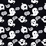 Ghost vector seamless pattern Royalty Free Stock Image