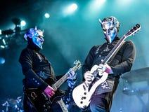 Ghost vive no festival 2016 de Hellfest imagem de stock