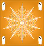 Ghost web Stock Photography