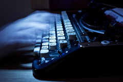 Ghost Writing Old Typewriter Royalty Free Stock Photography