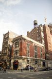Ghostbuster headquarter in New York. An old fire station Stock Photography