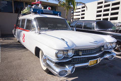 Ghostbusters Car Royalty Free Stock Photography