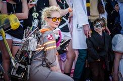 Ghostbusters cosplay στο Sci Fi Scarborough Στοκ φωτογραφία με δικαίωμα ελεύθερης χρήσης