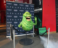 Ghostbusters. A new exhibit, Ghostbusters Dimension experience,opened at Madam Tussauds at Times Square in New York. The figure of Slimer the green ghost from stock images