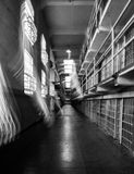 Ghostly Alcatraz Stock Images