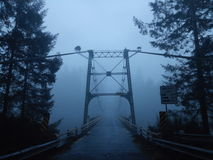 Ghostly. Bridge ghostly northwest amazing scary lovely Royalty Free Stock Photos