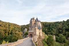 Free Ghostly Eltz Castle Royalty Free Stock Photos - 123701918
