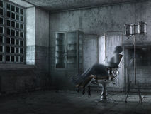 Free Ghostly Hospital And Tortured Soul Royalty Free Stock Photography - 87574347