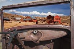 Ghostown Bodie в Калифорнии стоковые изображения