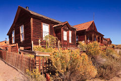 Ghostown Bodie in California Stock Photos