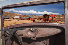 Ghostown Bodie in California Stock Images